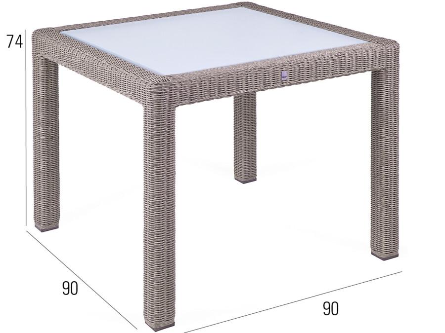 Tisch Bellini koala 90x90