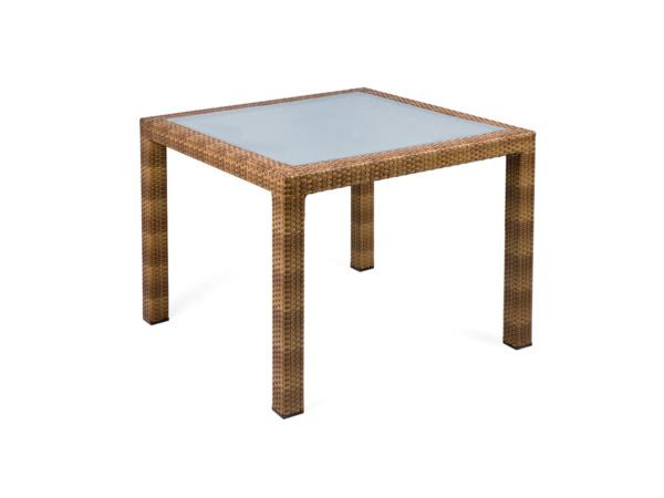Tisch Bellini Tobacco 90x90