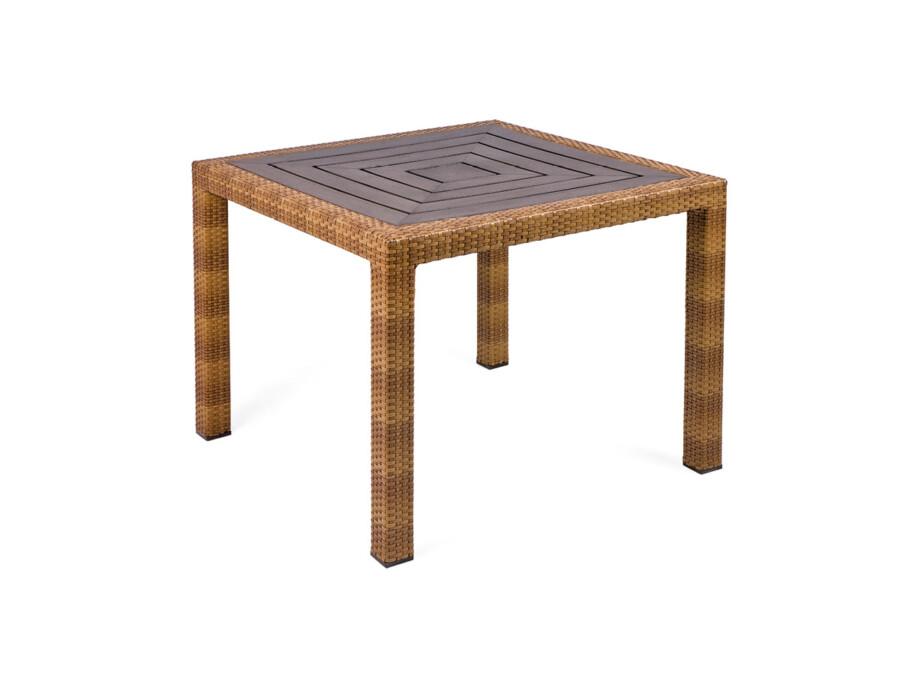 Tisch Bellini Tobacco Resysta 90x90