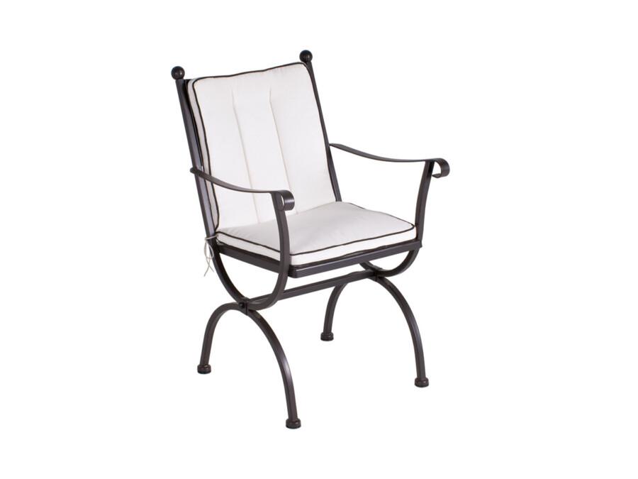 Sitz- Rückenkissen Romeo uni natur