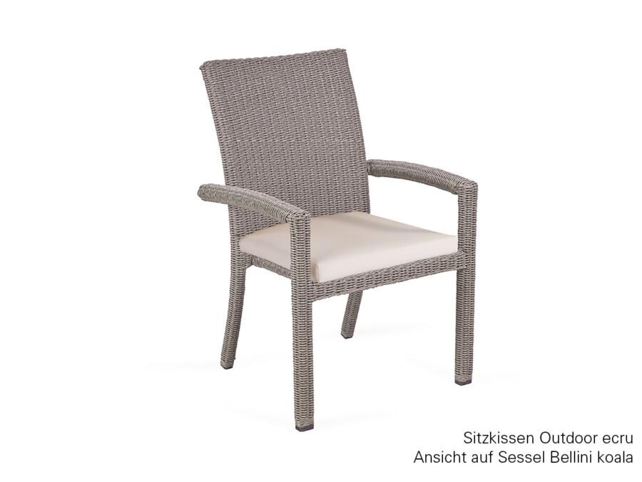 Sitzkissen Sessel Bellini Outdoor classic ecru