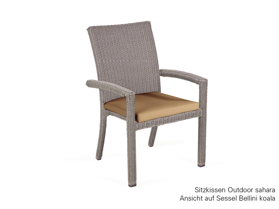 Sitzkissen Sessel Bellini Outdoor sahara