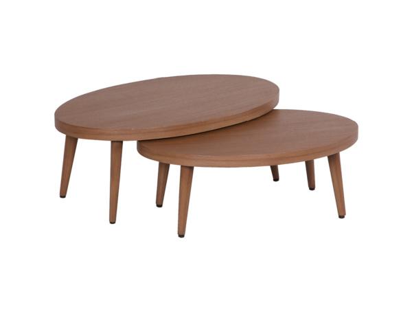 Lounge-Tisch 2er Set borneo