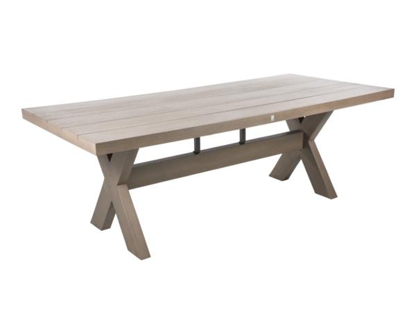 Tisch Crossleg stone grey