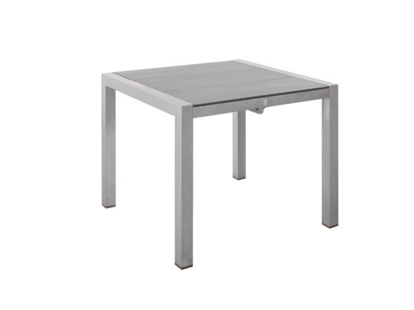 Tisch Kennedy Alu 90x90