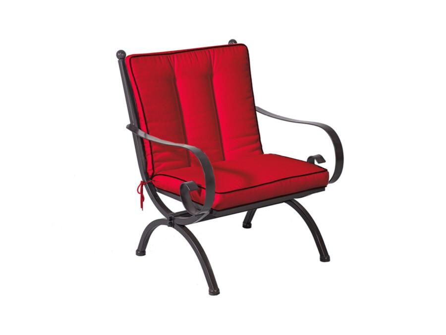 Sitz-/Rückenkissen Romeo Lounge rot