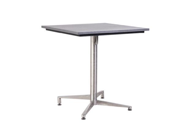 Tisch Victory Edelstahl stone grey